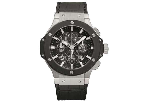 Hublot Big Bang 44 mm Aero Bang Steel Ceramic - Crystal group