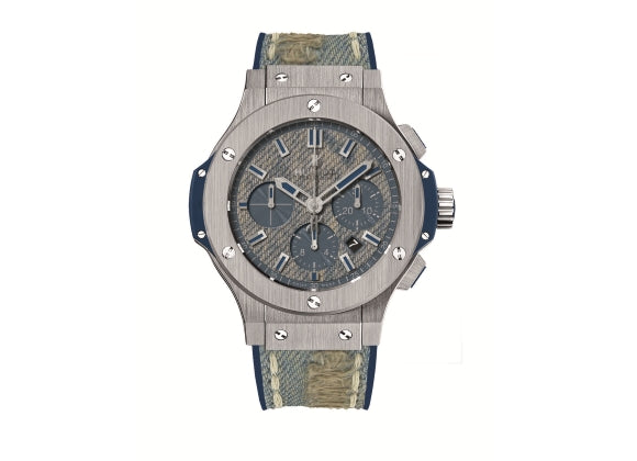Hublot Часы Big Bang 44mm Jeans Steel