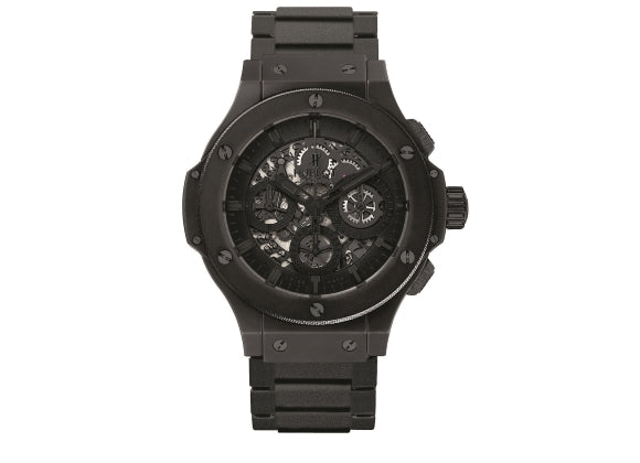 Hublot Big Bang 44 mm Aero Bang All Black II - Crystal group