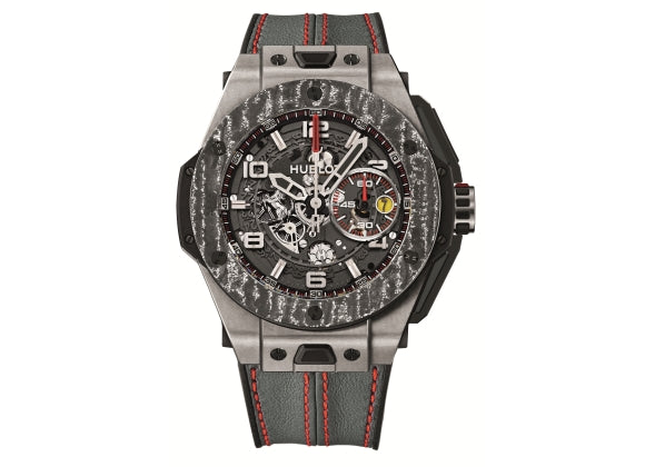 Hublot Big Bang 45 mm Ferrari Titanium Carbon - Crystal group