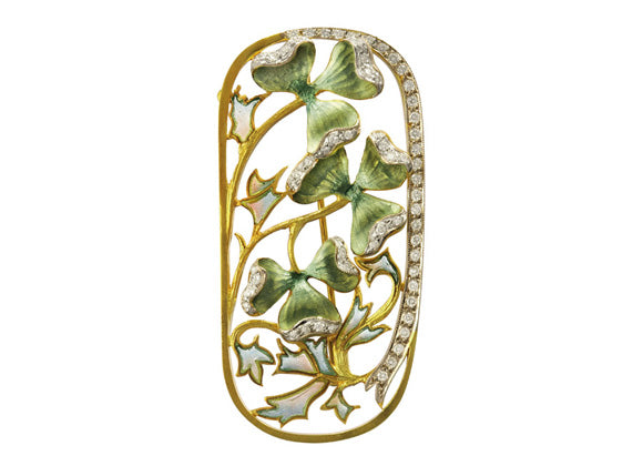 Masriera Art Nouveau - Crystal group