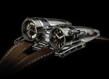 MB&F Horological Machine 4, Razzle Dazzle - Crystal group