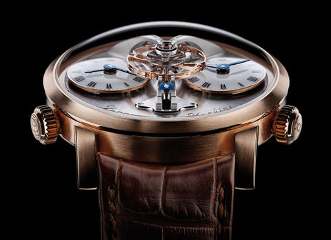MB&F Legacy Machine 1 - Crystal group
