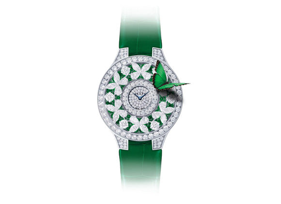 Graff watches Butterfly Watch - Emerald