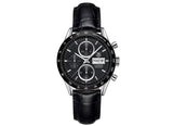 Украденные часы Watch Сalibre 16 Day Date Automatic Chronograph 41 mm Black Strap - Crystal group