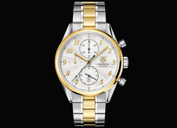 TAG Heuer Carrera Calibre 16 Heritage Chronograph - Crystal group