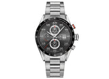 Украденные часы Watch Carrera Calibre 1887 Automatic Chronograph 43 mm Anthracite Steel Bracelet - Crystal group