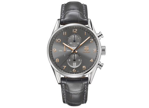 Watch Сarrera Сalibre 1887 Automatic Chronograph 43 mm Anthracite