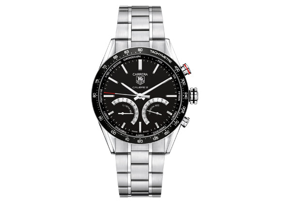 Watch Carrera Calibre S Black Bracelet