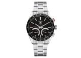 Украденные часы Watch Carrera Calibre S Black Bracelet - Crystal group