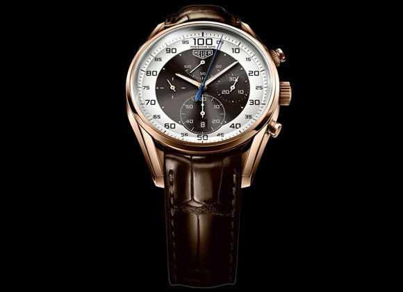 TAG Heuer Carrera Mikrograph 1/100th of a Second Chronograph - Crystal group