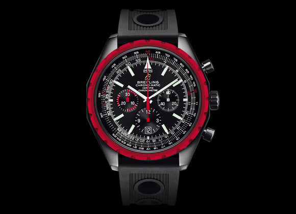 Breitling CHRONO-MATIC BLACKSTEEL - Crystal group
