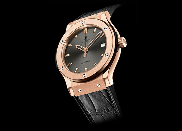 Hublot Classic Fusion 42 mm King Gold Racing Grey - Crystal group