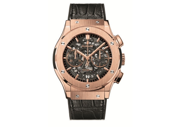 Hublot Classic Fusion 45 mm Aero Chronograph King Gold