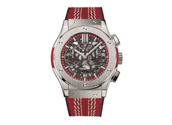 Hublot Classic Fusion 45 mm Aerofusion Cricket World Cup 2015 Titanium - Crystal group