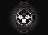 Blaken Cosmograph Daytona All Black Red Hands - Crystal group