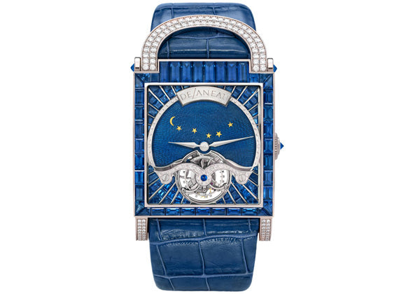 DeLaneau Dôme Tourbillon Blue Night