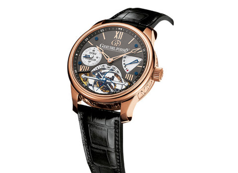 Greubel Forsey Double Tourbillon 30 ° - Crystal group