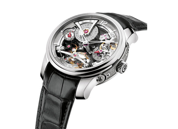 Greubel Forsey Double Tourbillon 30°  Technique - Crystal group