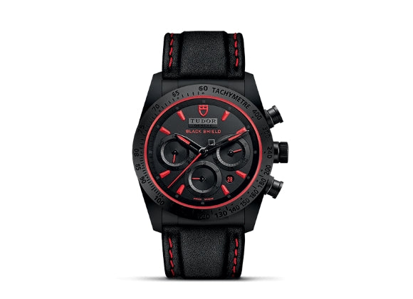 Tudor Часы Fastrider Black Shield