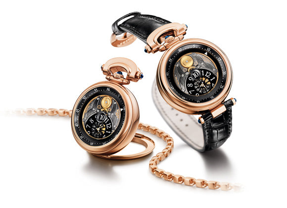 "Bovet ""Fleurier Jumping Hours"" 42 mm Amadeo - Crystal group"
