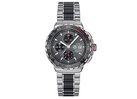 Украденные часы Watch Formula 1 Calibre 16 Automatic Chronograph 44 mm Anthracite and Red - Crystal group