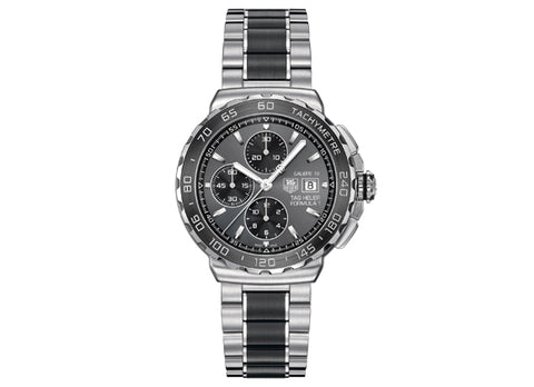 Украденные часы Watch Formula 1 Calibre 16 Automatic Chronograph 44 mm Anthracite and White - Crystal group