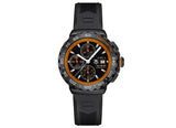 Украденные часы Watch Formula 1 Calibre 16 Automatic Chronograph 44 mm Black and Orange Rubber - Crystal group