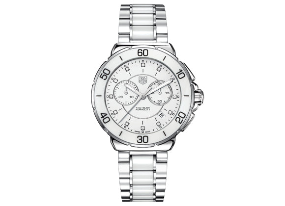 Украденные часы Watch Formula 1 Steel Ceramic Chronograph 41 mm White - Crystal group