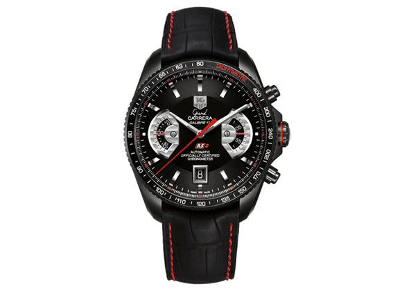 Украденные часы Watch Grand Carrera Calibre 17 RS2 Automatic Chronograph 43 mm Black - Crystal group