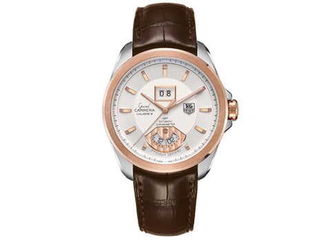 Украденные часы Watch Grand Carrera Calibre 6 RS Automatic Watch 40,2 mm Steel and Rosegold - Crystal group