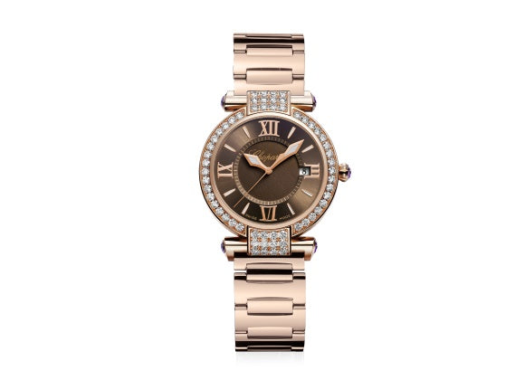 Chopard watches Imperiale Rose Gold 28 mm - Crystal group
