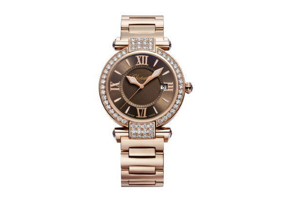 Chopard watches Imperiale Rose Gold 36 mm - Crystal group