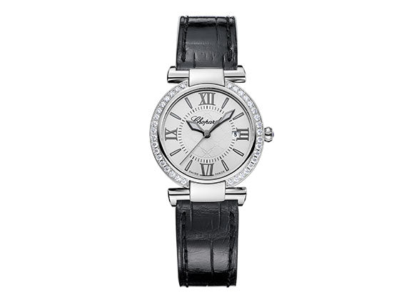 Chopard watches Imperiale Steel 28 mm - Crystal group
