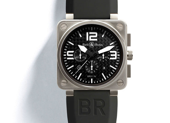Bell&Ross Instrument BR01-94 Titan Chrono - Crystal group