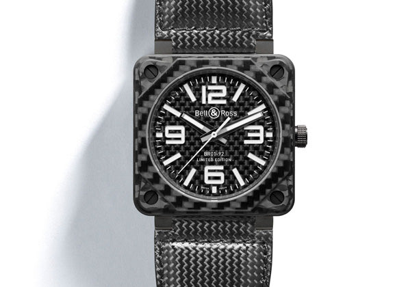 Bell&Ross Instrument Carbon Fiber - Crystal group