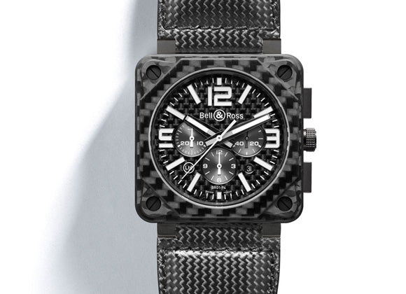Bell&Ross Instrument Chrono Carbon Fiber - Crystal group