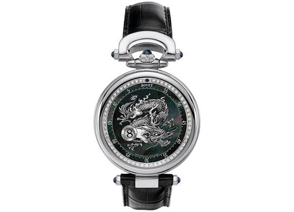 "Bovet Jumping hours 42 mm ""Dragon"" - Crystal group"