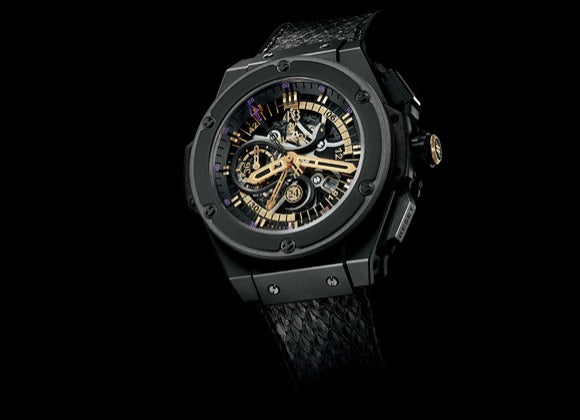Hublot King Power 48 mm Black Mamba - Crystal group