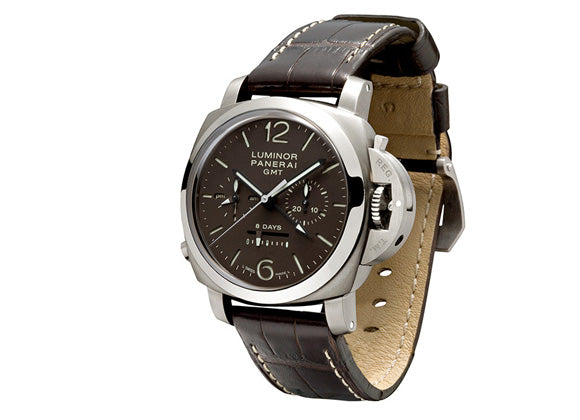Panerai Luminor 1950 Chrono Monopulsante 8 Days GMT Titanio - Crystal group