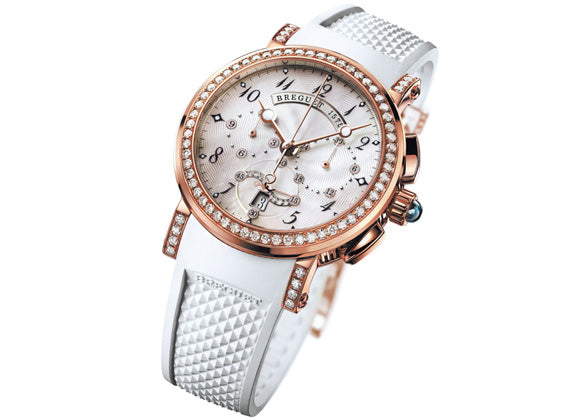 Breguet Marine Lady Chrono 8828BR - Crystal group