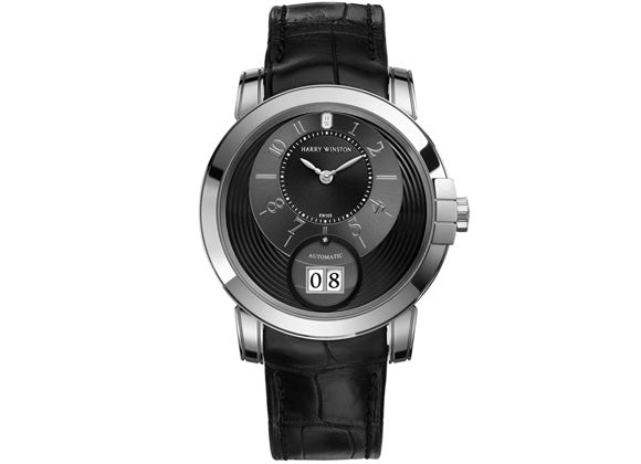 Harry Winston watches Midnight Big Date - Crystal group