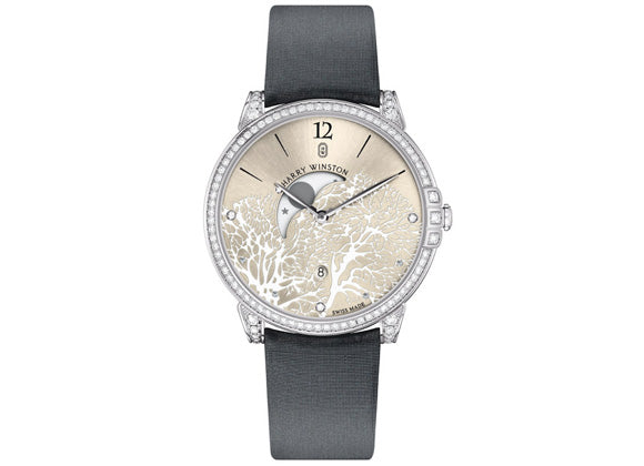 Harry Winston watches Midnight Moon Phase
