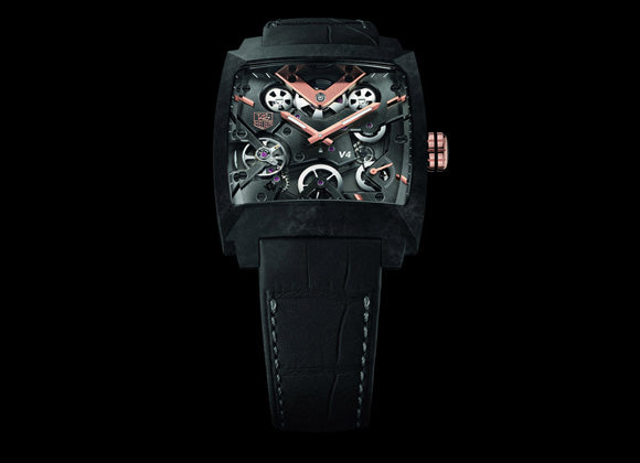 TAG Heuer Monaco V4 Carbon - Crystal group