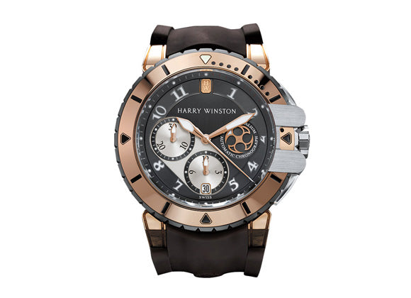 Harry Winston watches Ocean Diver - Crystal group