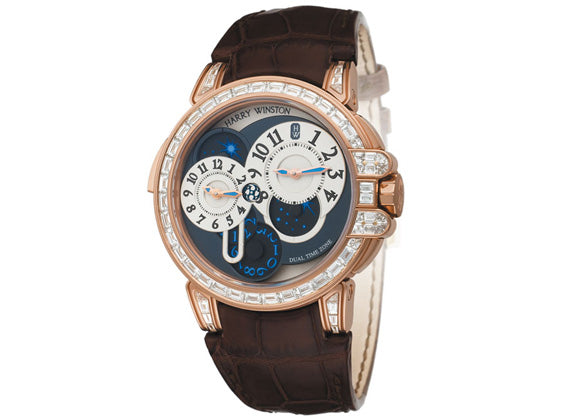 Harry Winston watches Ocean Dual Time - Crystal group