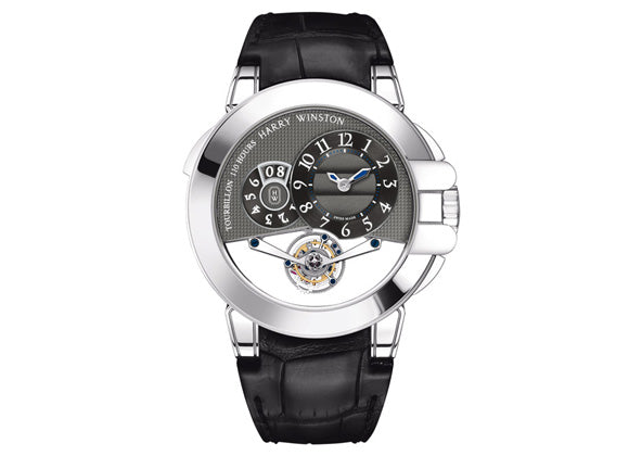 Harry Winston watches Ocean Tourbillon Big Date - Crystal group