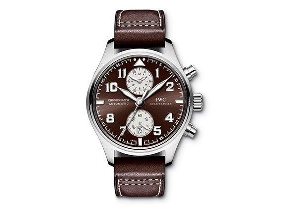 IWC Pilot's Watch Chronograph Edition Antoine De Saint Exupery - Crystal group