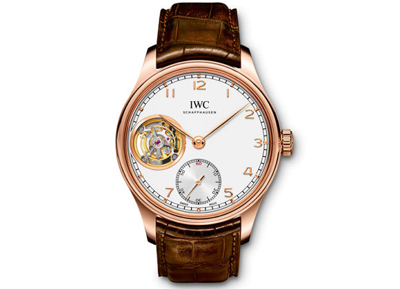 IWC Portuguese Tourbillon Hand-Wound - Crystal group