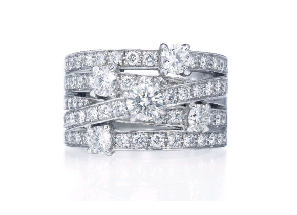 Harry Winston Designed - Crystal group